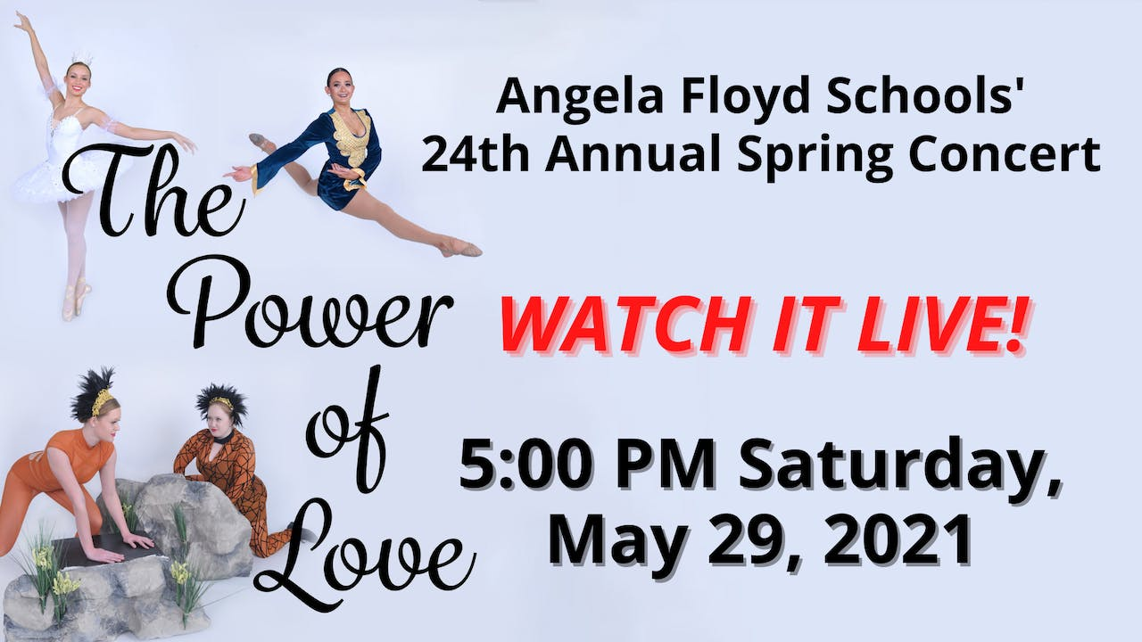 The Power of Love LIVE! 05/29/2021 5:00 PM
