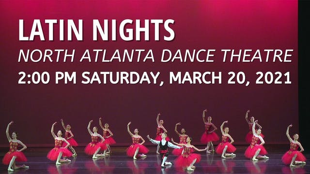 Latin Nights Saturday 3/20/2021 2:00 PM