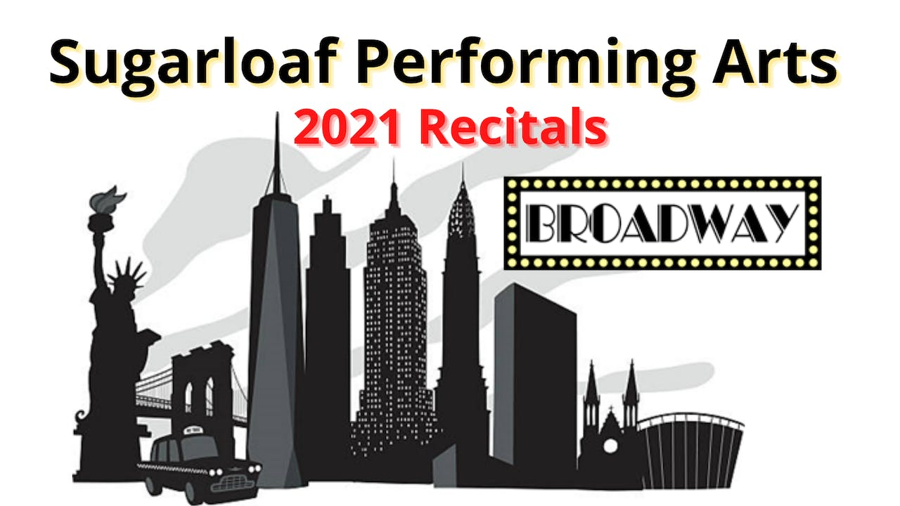 2021 Recital LIVE!  Watch ALL 4 Shows!