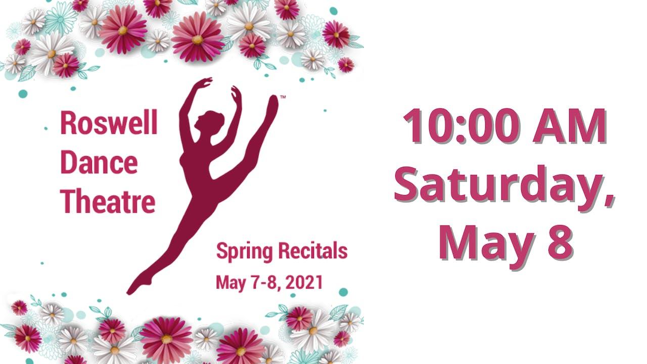 Spring Recitals 5/8/2021 10:00 AM