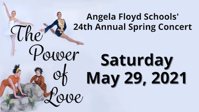 The Power of Love Saturday 5/29/2021 5:00 PM
