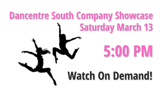 Company Showcase Saturday 3/13/2021 5:00 PM