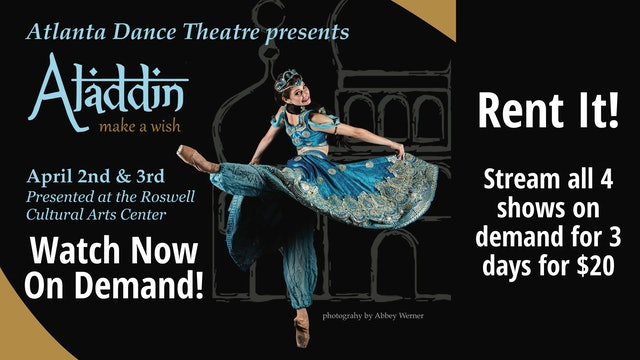 Rent Aladdin: all four shows!