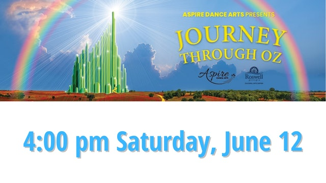 DVD image file for Aspire Dance Arts, 4:00 PM Saturday, June 12, 2021
