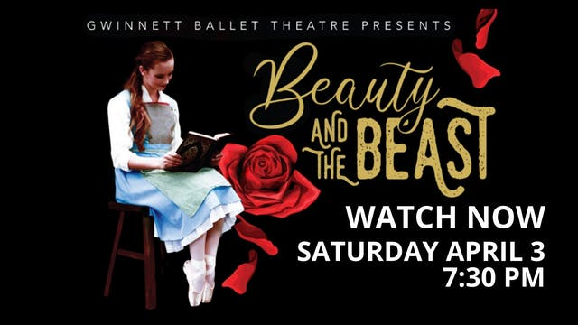 Beauty and the Beast LIVE! 4/03/2021 7:30 PM
