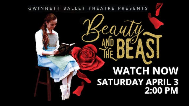 Beauty and the Beast LIVE! 4/03/2021 2:00 PM