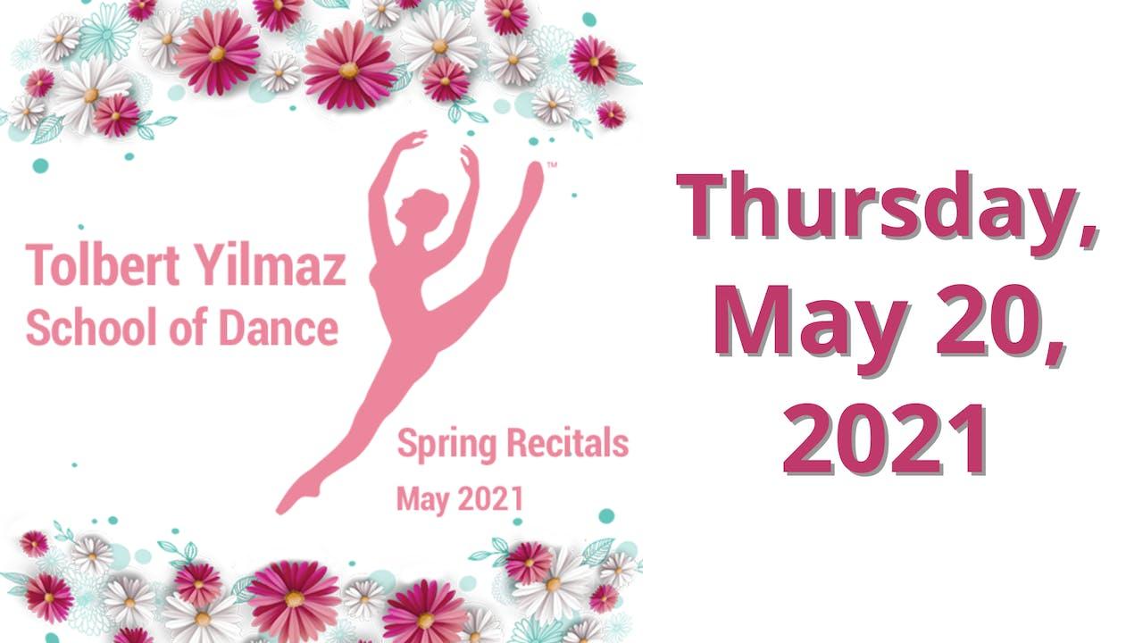 Let's Put On a Show! 5/20/2021 (Thursday)