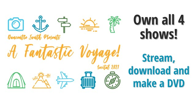 A Fantastic Voyage: Own all 4 shows!