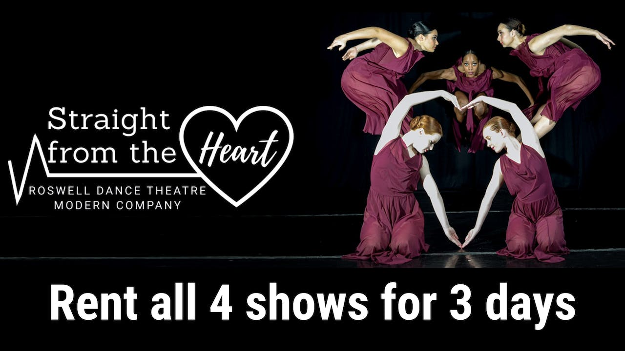 Rent Straight from the Heart: all four shows