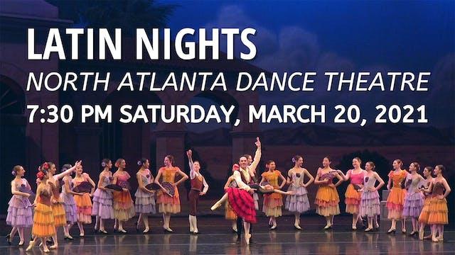 Latin Nights 3/20/2021 7:30 PM