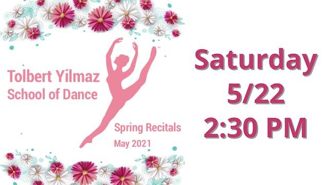 Saturday 5/22 2:30 PM