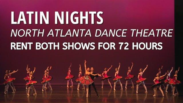Rent Latin Nights - both shows!