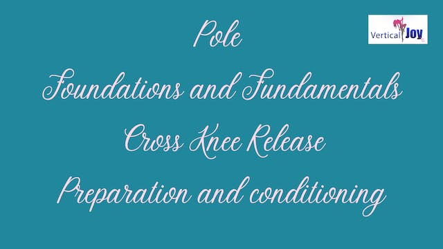Cross Knee Release Prep and Conditioning