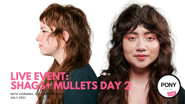 LIVE FOOTAGE: Shags + Mullets Day 2 with Casey, Cella and Corinna