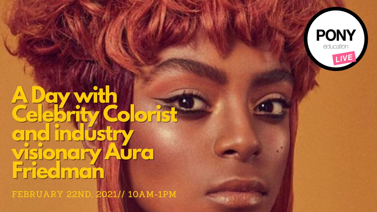 All About Redheads with Aura// Feb. 22 from 10am-12pm (PST)