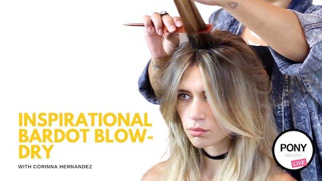 Bardot Blow Dry Inspo