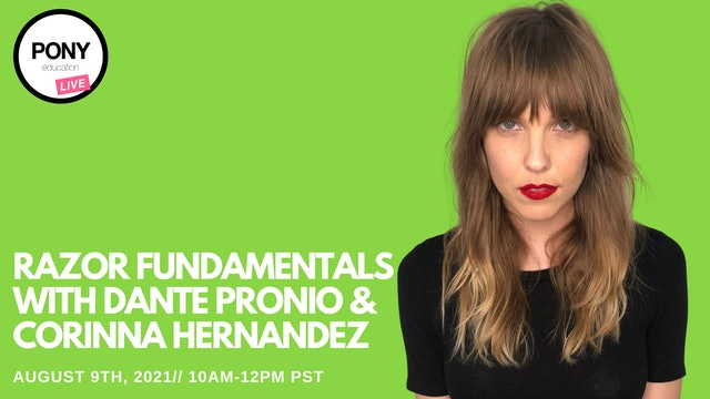 Razor Fundamentals Day 2 with Dante Pronio & Corinna Hernandez