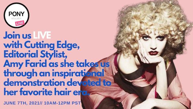 Inspirational Eras with Editorial Stylist Amy Farid
