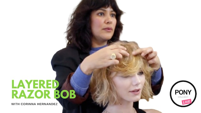 Layered Razor Bob Full-Length Tutorial by Corinna