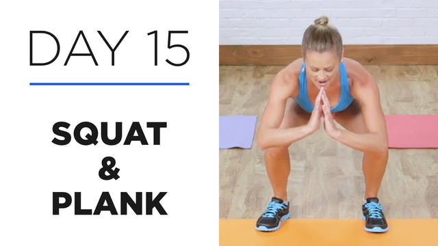 Day 15: 10-Minute Squat & Plank Series