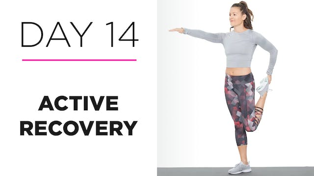 Day 14: How to Do Active Recovery: Food + Hydration