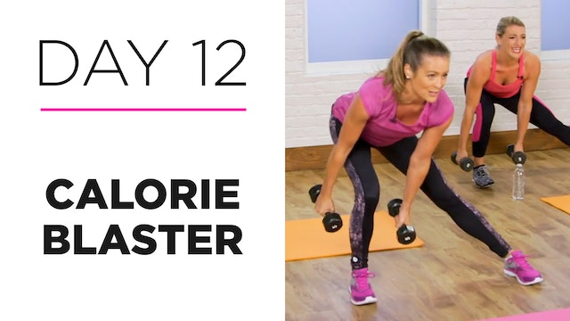 Day 12: 20-Minute Calorie Blaster
