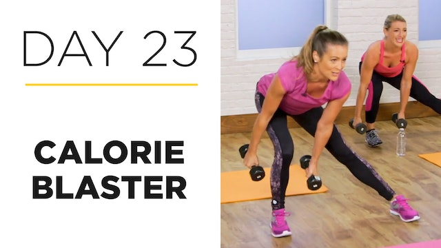 Day 23: 20-Minute Calorie Blaster