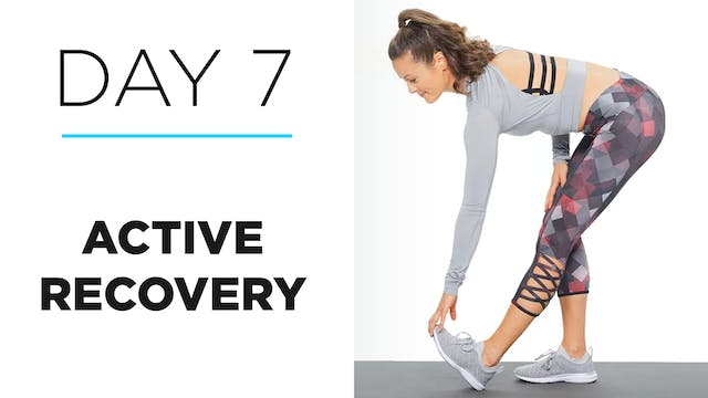 Day 7: How to Do Active Recovery: Stretching