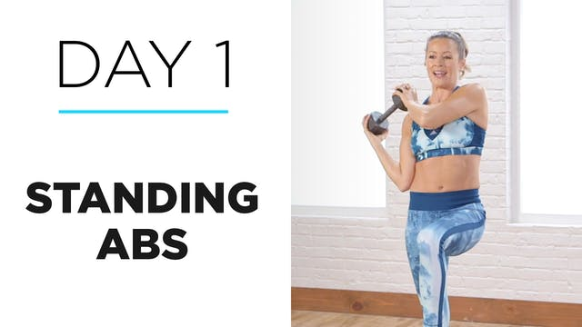 Day 1: 10-Minute Standing Abs