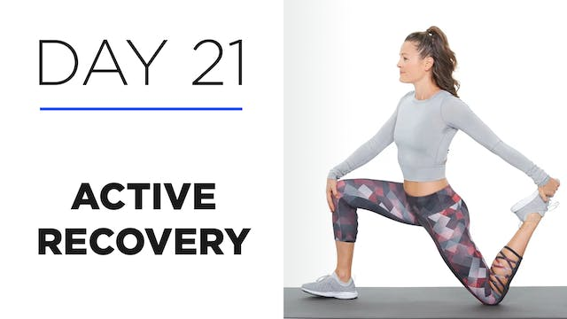 Day 21: Active Recovery: The Importance of Sleep