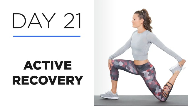 Day 21: Active Recovery: The Importan...