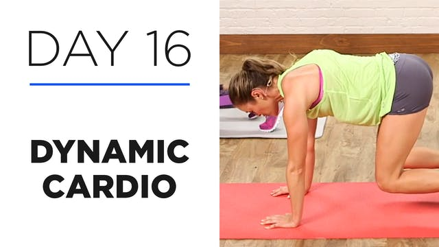 Day 16: 20-Minute Dynamic Cardio