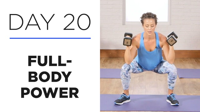 Day 20: 30-Minute Full-Body Power Workout