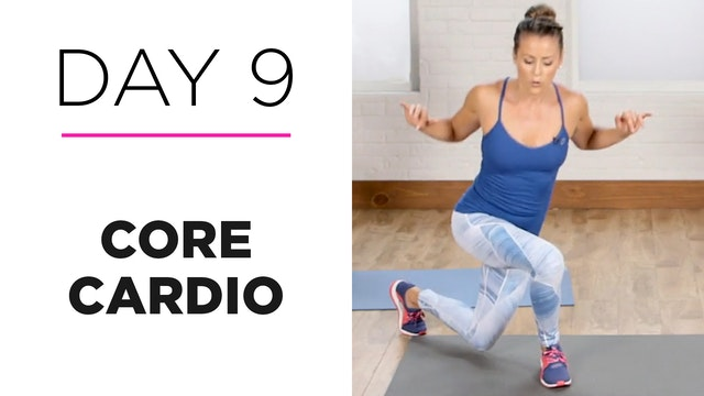 Day 9: 15-Minute Core Cardio