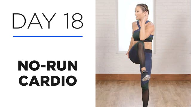 Day 18: 15-Minute No-Run Cardio