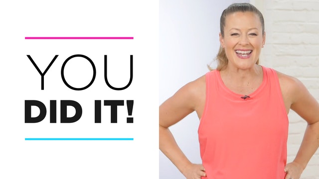 Day 30: You Did It!