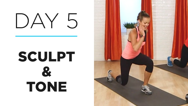 Day 5: 10-Minute Sculpt & Tone