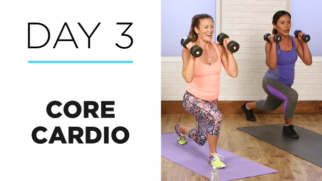 Day 3: 15-Minute Core Cardio