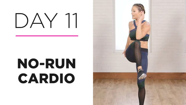Day 11: 15-Minute No-Run Cardio Workout