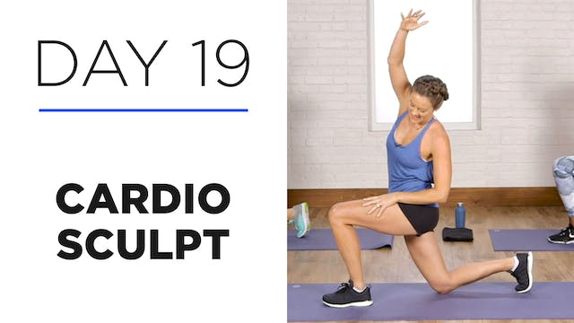 Day 19: 25-Minute Cardio Sculpt