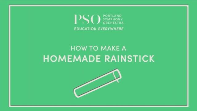 How to Make a Homemade Rain Stick