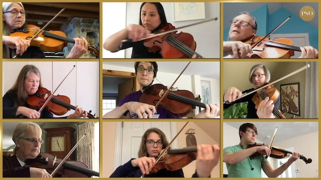Notes From Home featuring the PSO vio...