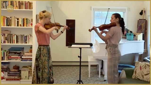 Notes From Home featuring violinists Antoaneta Anguelova & Mina Lavcheva