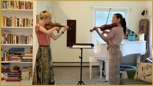 Notes From Home featuring violinists ...