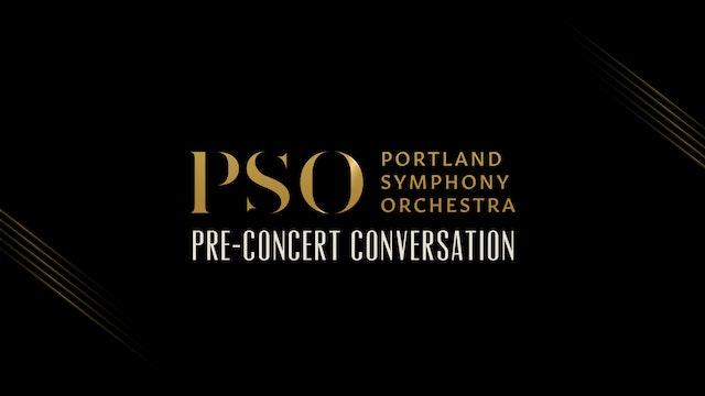 Pre-Concert Conversation: Bach & Brahms