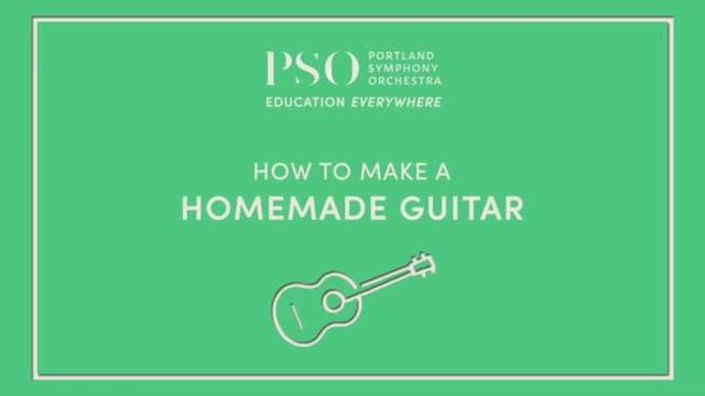 How to Make a Homemade Guitar