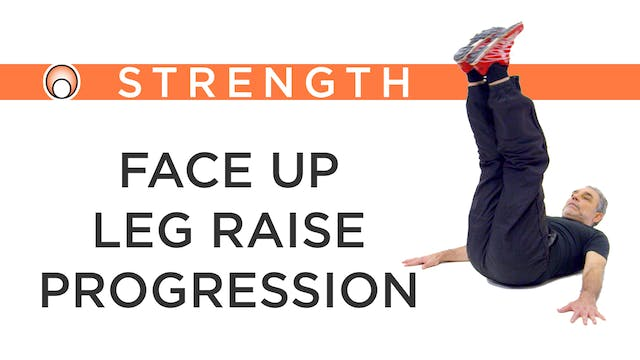 Face Up Leg Raise Progression