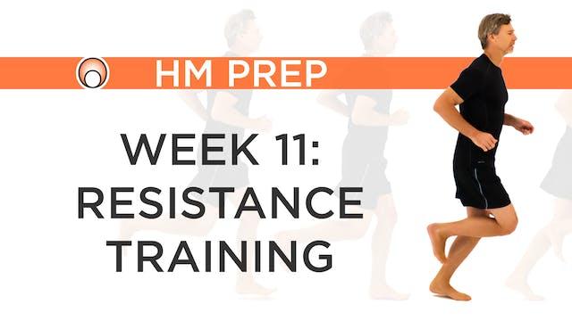 Week 11 - Resistance Training