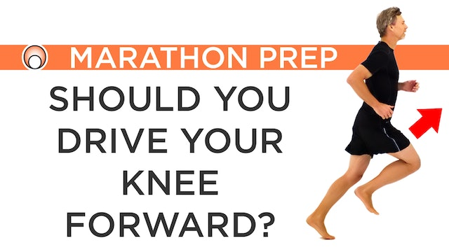 Should you Drive your Knee Forward?