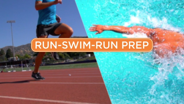 Run-Swim-Run Prep Program
